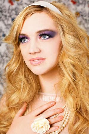 Beautiful woman portrait. photo