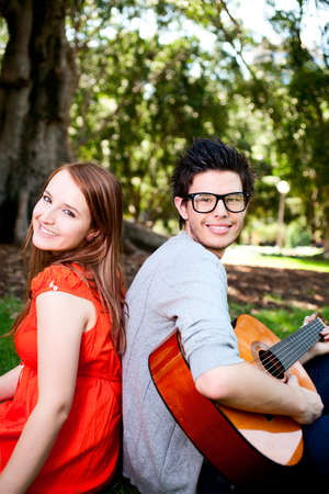 Young beautiful Lover Stock Photo