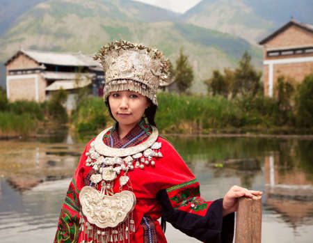 Girl from Miao people China