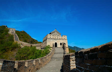 Front shoot of the Great Wall Stock Photo - 9616492