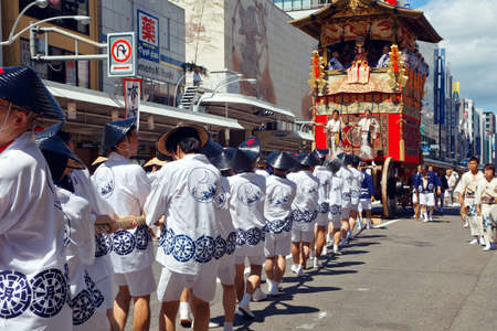 annually: The Gion Festival (Gion Matsuri) takes place annually in Kyoto and is one of the most famous festivals in Japan. Editorial