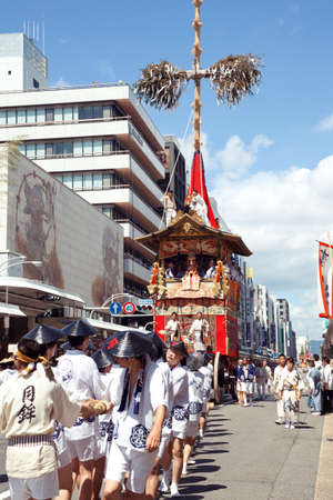 The Gion Festival (Gion Matsuri) takes place annually in Kyoto and is one of the most famous festivals in Japan. Editorial