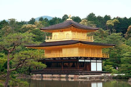 Summer in Japan at Kinkaku-ji Temple of the Golden Pavilion