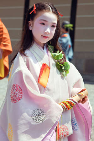 Aoi Matsuri festival in summer time at Kyoto 2012