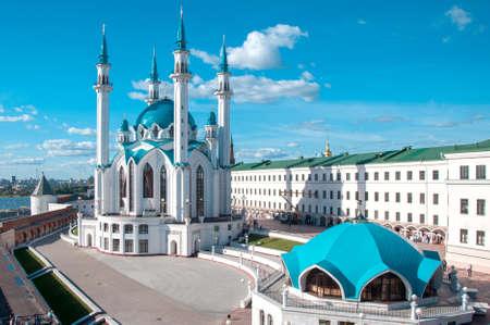 tourism in russia: KAZAN, RUSSIA - AUGUST 20, 2015: Kul Sharif Qolsherif, Kol Sharif