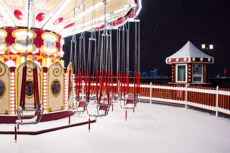 Carousel winter.