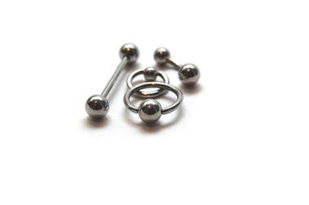 Circulars & barbells Stock Photo