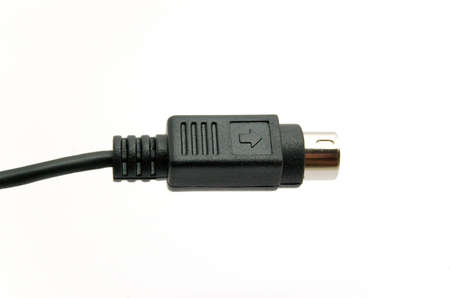 Cable s-video Stock Photo