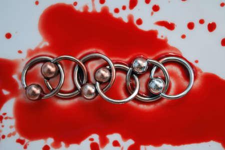 Blood & circulars for piercing