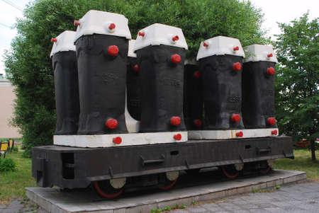 Blastfurnace history, metallurgy industry, manufacture Stock Photo - 3238547