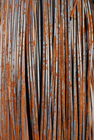 Steel wire Stock Photo