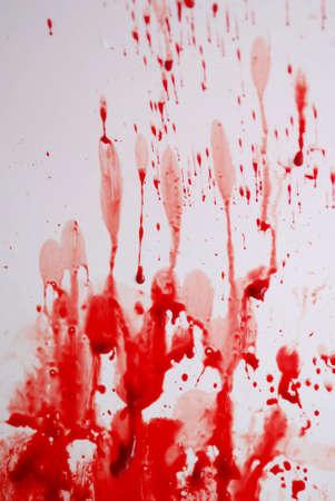 Abstract blood on the bath Standard-Bild