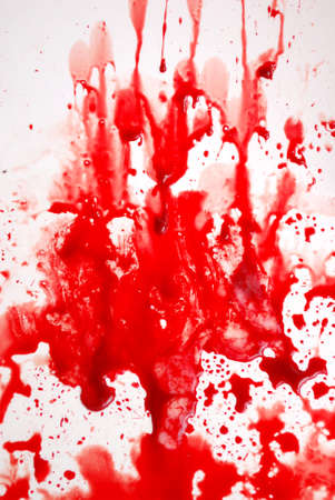 Abstract blood on the bath Stock Photo