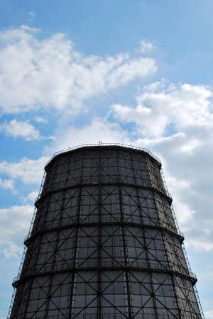 blastfurnace: Blastfurnace chimney