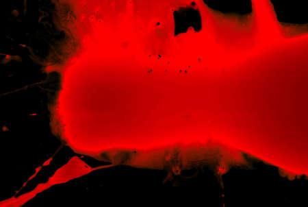 Abstract blood on black background Stock Photo - 4032277