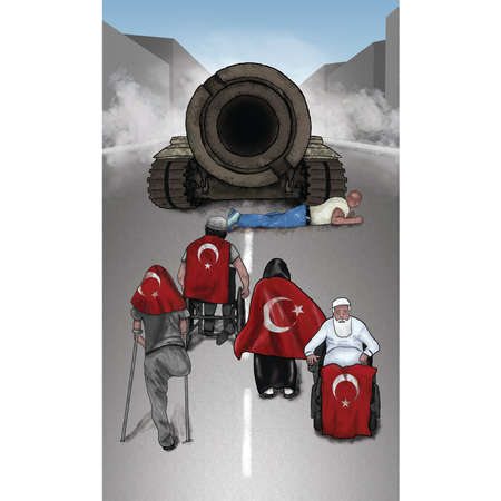 Turkish heroes who resisted the July 15 coup attempt