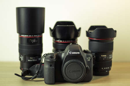 eos: Photography equipment - Canon EOS 6d and Canon lenses