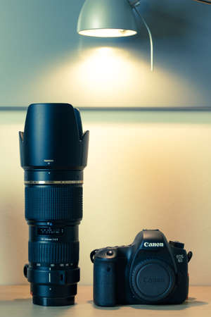 eos: Photography equipment - Canon EOS 6d and Tamron 70-200mm f2.8 zoom lens