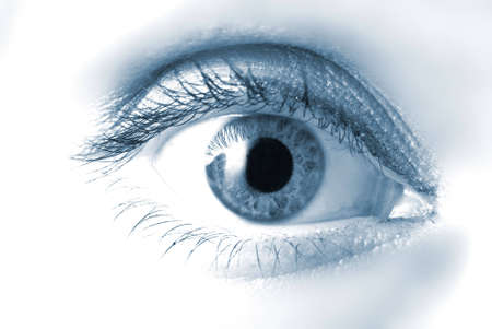Closeup shot of eye Stock Photo - 731888