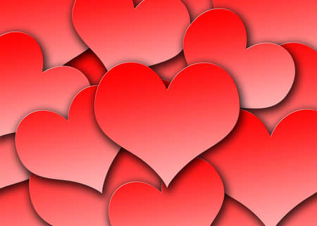 Heart Background Stock Photo - 732826