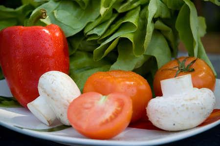 Fresh Vegetables Stock Photo - 746624