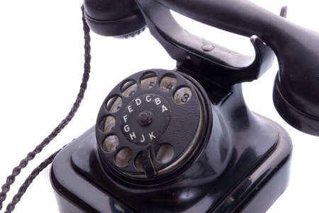 Old Phone Isolated Stock Photo - 748205