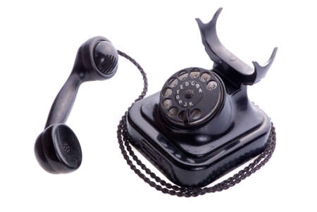 Old Phone Isolated Stock Photo - 748219