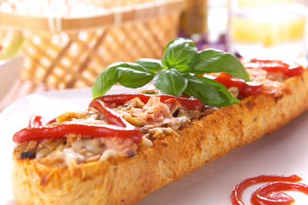 Delicious Casserole with basil