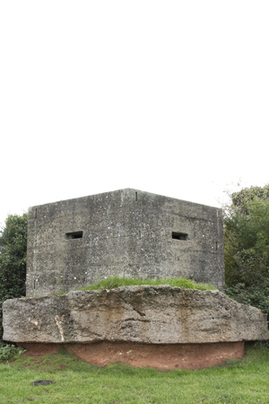 defended: World War II Type 24 pillbox on the Taunton Stop Line at Creech St Michael, Somerset, England, United  Kingdom