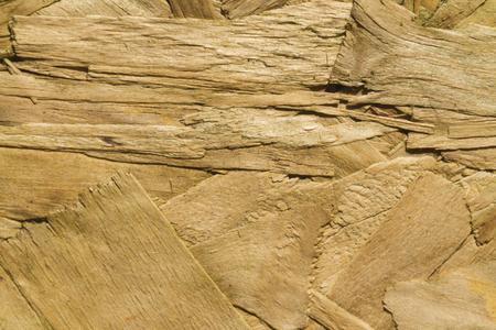 reconstituted: Close up of texture and pattern of Oriented Strand Board, a wooden panel  Texture or background  Stock Photo