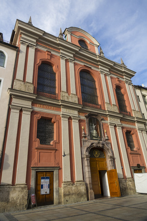 str: Citizens Hall, used as a church, Neuhauser Str, Munich, Bavaria, Germany, Europe.