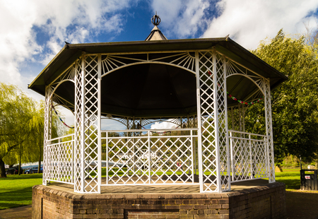 bandstand: Well maintained UK bandstand