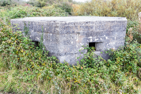 WWII pillbox Kidwelly, Wales, United Kingdom, Europe, On the Carmarthen Stop Line.