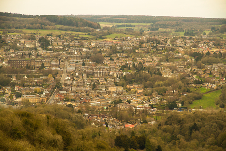 Matlock, Derbyshire, from distance.
