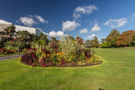 Bournemouth, United Kingdom – The Lower Winter Gardens on September 21 2018 in Bournemouth.