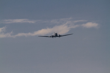 Bournemouth, United Kingdom – Bournemouth Air Festival 2018 Sally-B B17 Flying Fortress aeroplane on September 2 2018 in Bournemouth. Editorial