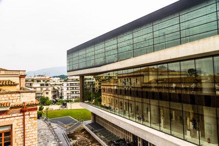 Athens, Greece – October 27, 2018:  The Acropolis Museum. Editorial