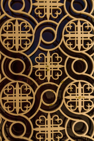 Detail of Greek church background showing pattern or background