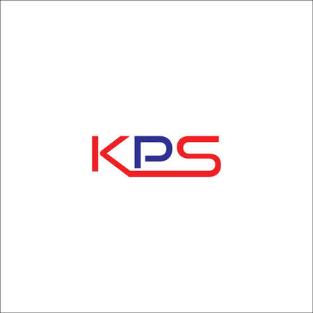 eerste KPS-pictogramontwerpvector Stock Illustratie