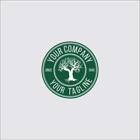 tree symbol design illustration.