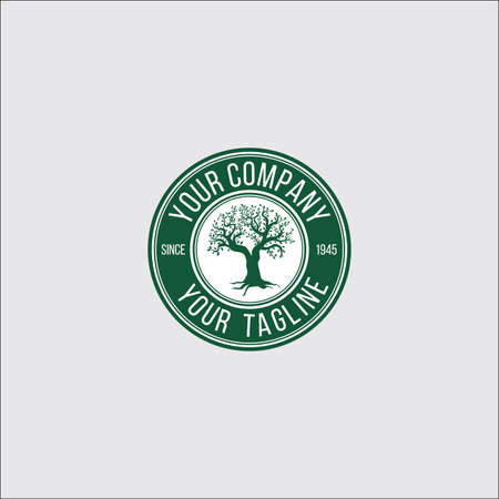 banyan logo concept Ilustrace