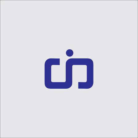 eerste symbool ontwerp illustratie.