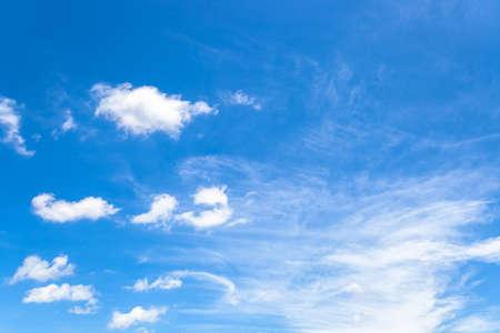 Blue sky background materials 写真素材