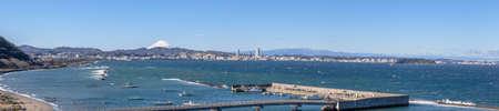 Fuji Yokosuka City running water from the Miura peninsula