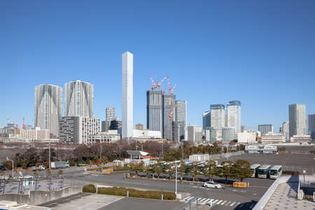 Tokyo Olympic Games athletes village site