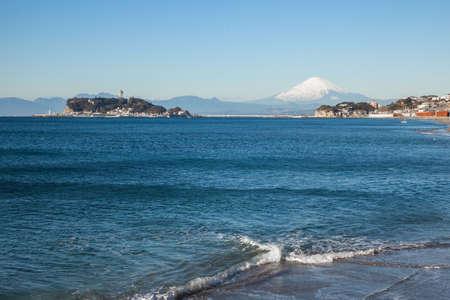 Mt. Fuji and Enoshima