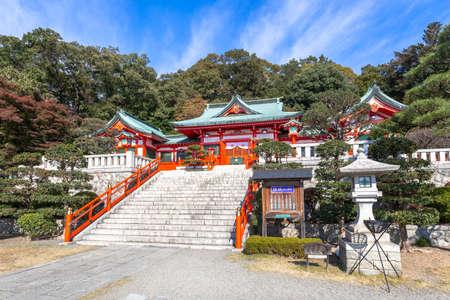 Ashikaga Orihime shrine 写真素材 - 113809896