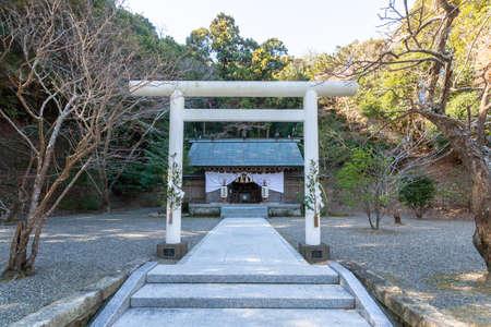 Chiba Prefecture Tateyama Awa Jinja 写真素材 - 118865587