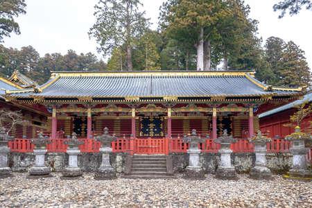 Nikko Tosho-gu shrine Kazuwa freezer
