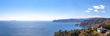 Atami Castle from ajiro Izu Oshima hatsushima Island bound